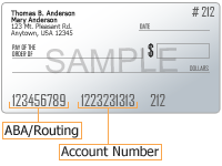 ABA/Routing Number